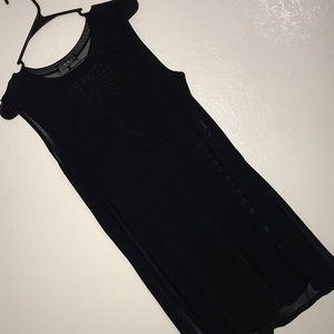 Dresses & Skirts - Sheer Sleeveless Dress w/ slits